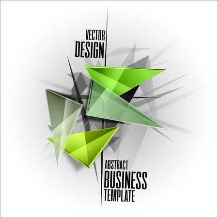 busines: Abstract symbols as busines template. Sharp triangles on the abstract background. Vector design elements. This images without sample texts in my portfolio.