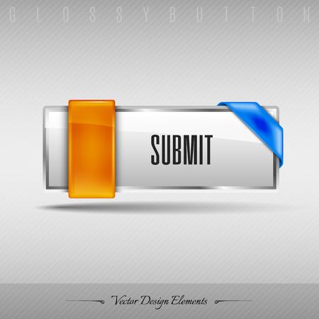administer: Business web button for website or app. Vector design element.