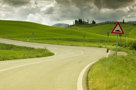 strada in Toscana