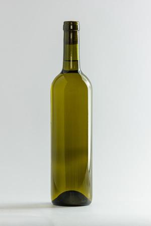 white wine: Bottle of white wine Stock Photo