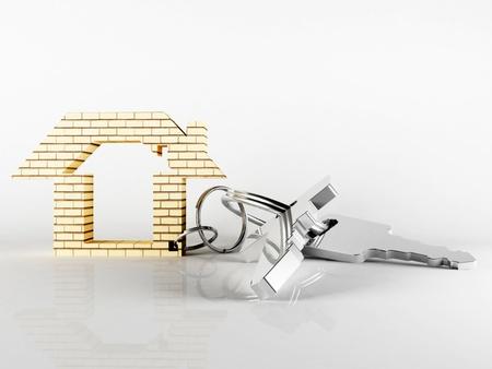 metall clé pour votre nouvelle maison