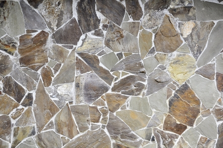 natural texture of stone wall photo