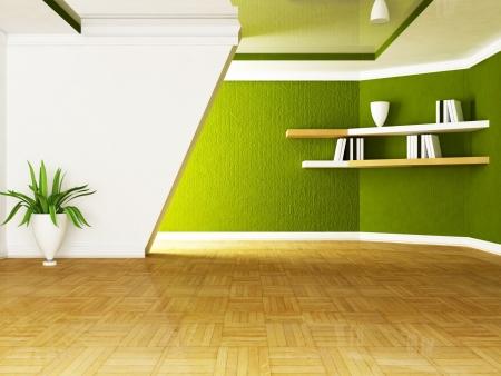 etagere murale: un joli vase avec une plante dans la chambre