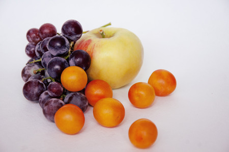fruitage: ripe juicy fruit for you Stock Photo