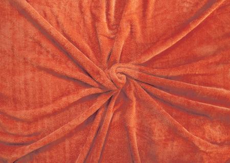 fleecy: the orange fleecy cloth, plaid