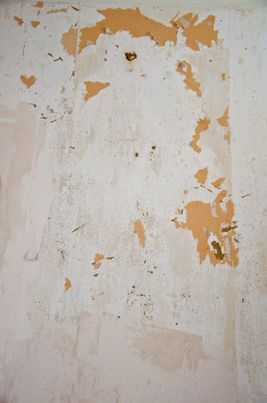 old dirty plaster, repair work in the house