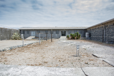 robben island: Cape Town, South Africa - March 03, 2017: Robben Island Prison where Nelson Mandela was incarcerated