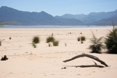 Theewaterskloof dam in the Western Cape during the 2017 drought