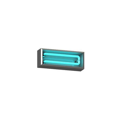 3d neon minus symbol