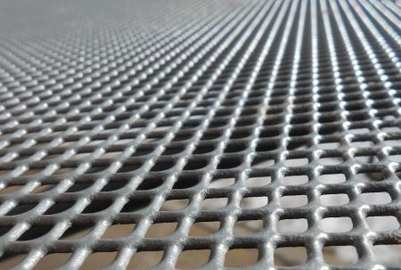 grid: Platform Grid Stock Photo