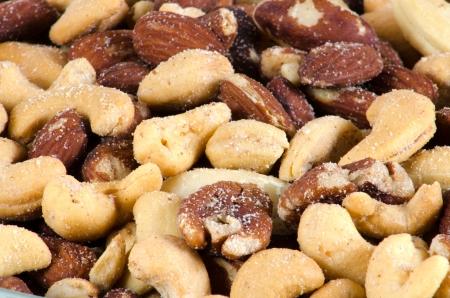塩味のナッツ