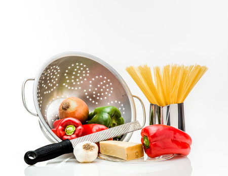 grate: Dinner Preparation Stock Photo