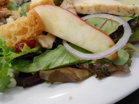 Salad Dish Stockfoto