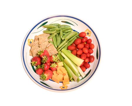 Vegetable Tray Stockfoto