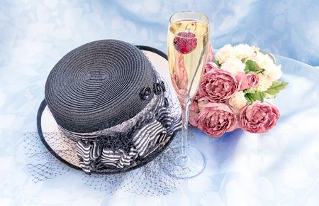 Chamagne Celebration Stockfoto