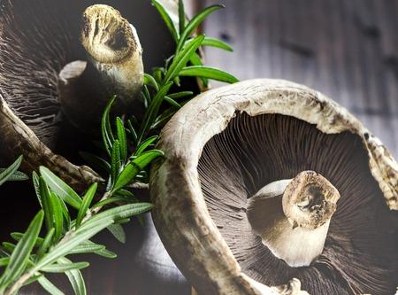 Mushrooms and Sage