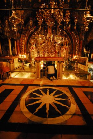 church of the holy sepulchre: The Holy Sepulchre Church in Jerusalem