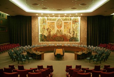 headquaters: Inside the Organization of united nations building