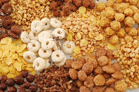 Various types of cereals with different colors Stock Photo - 3791117