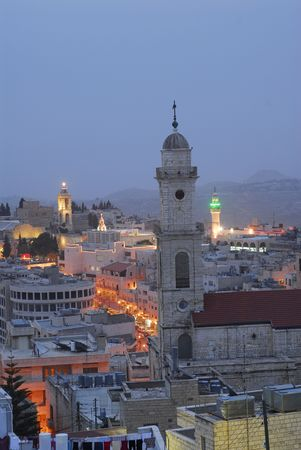 The Evening in the Bethlehem