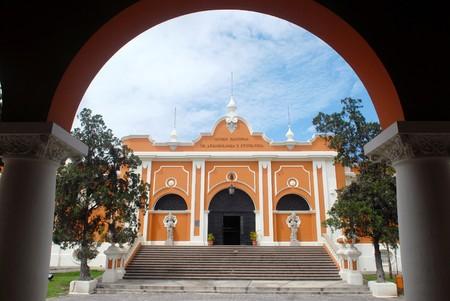 ethnology: The building of Museo national de arqueologia y etnologia.