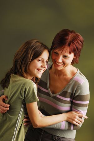 giggle: A mother with her daughter