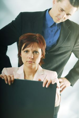 supervisi�n: A la supervisi�n en el trabajo
