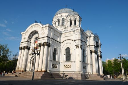 kaunas: The Sant Michael church in Kaunas.