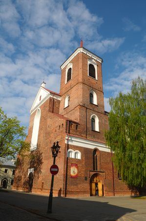 kaunas: The historic church in Kaunas. Stock Photo