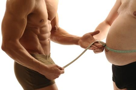 Trainer Maßnahmen overweight man