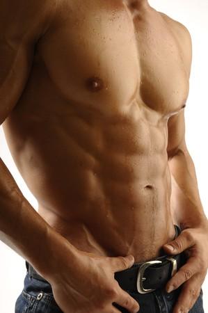 Junge athletischen Körper