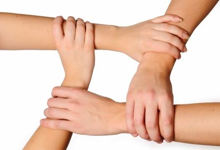 Conected hands