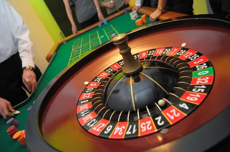 twenty one: picture of roulette with the ball on number twenty one