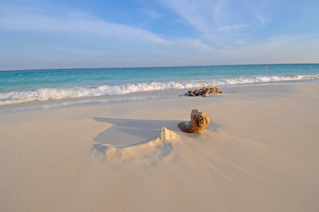carmen: Picture of a Playa del Carmen beach Stock Photo