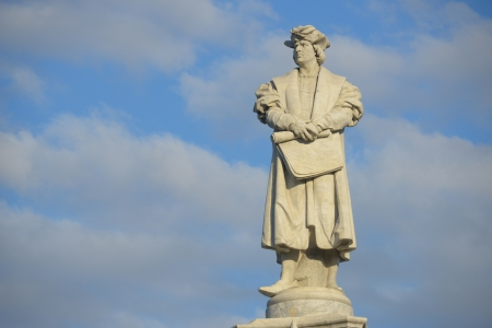 Statue of Chistopher Columbus in Buenos Aires