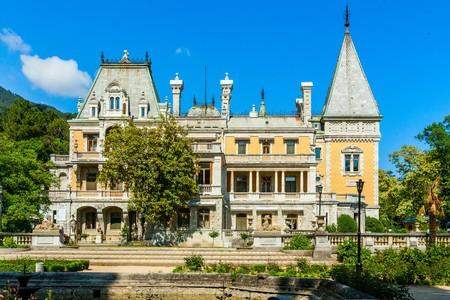 alexander: Massandra Palace of Emperor Alexander III. Crimea, Ukraine