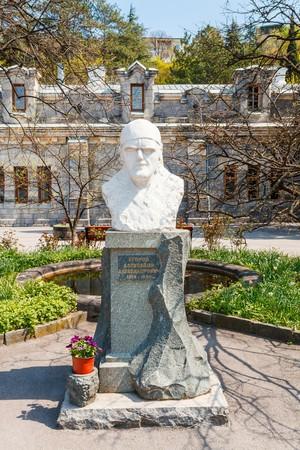 winemaker: Crimea. Bust of the winemaker 1874-1969
