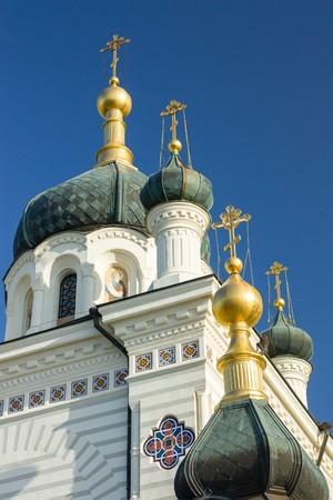 The Church of the Resurrection of Christ. Church On The Rock, Foros, Crimea, Ukraine.