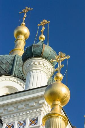 eminence: The Church of the Resurrection of Christ. Church On The Rock, Foros, Crimea, Ukraine.