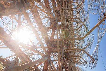 Soviet radar system Duga at Chernobyl-2 nuclear power plant