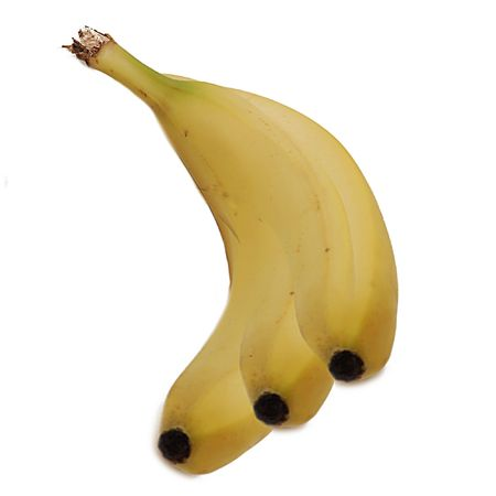 Three bananas morphed into one big banana.