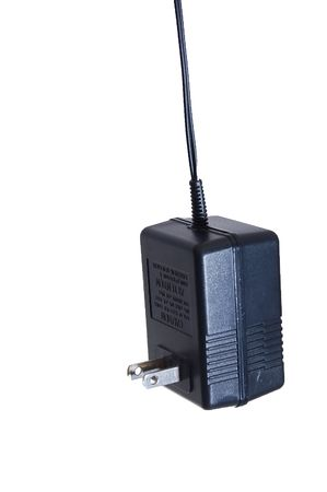 A power adapter with cord