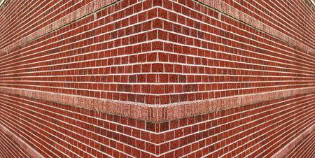 wall textures: Brick wall corner Stock Photo