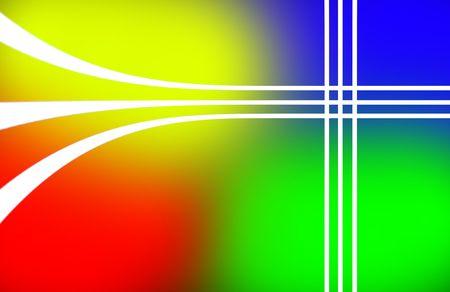 meant: Sfondo moderne linee colorate significato per il testo.