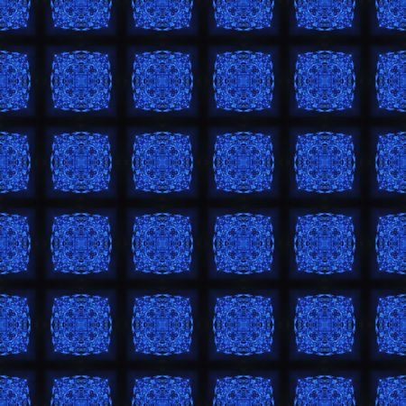 deep Blue Crystal Seamless Pattern Background graphic illustration