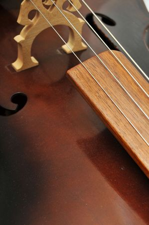 Abstract photograph of a cello which makes a great background photo