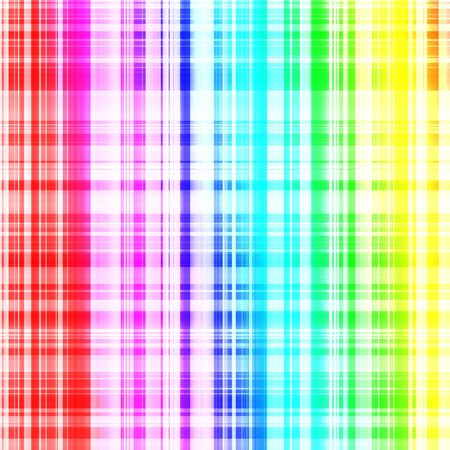 rainbow abstract: Shiny metal rainbow surface with lines. Square background graphic Stock Photo