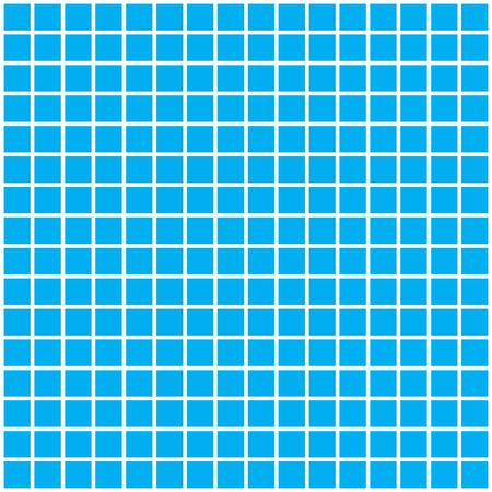 Blue square tiles separated by white lines in between each square. Фото со стока - 6200426