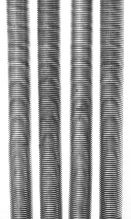 Four exercise springs isolated on white background. Reklamní fotografie