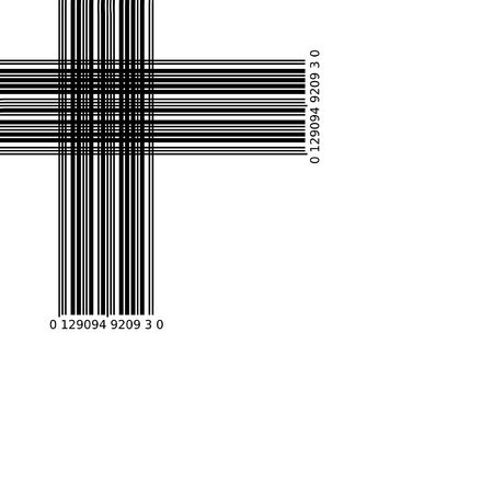 Abstract barcode graphic 2D design. Black and white illustration illustration